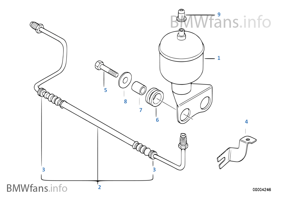 Bmw Suspension Diagrams With Part Numbers