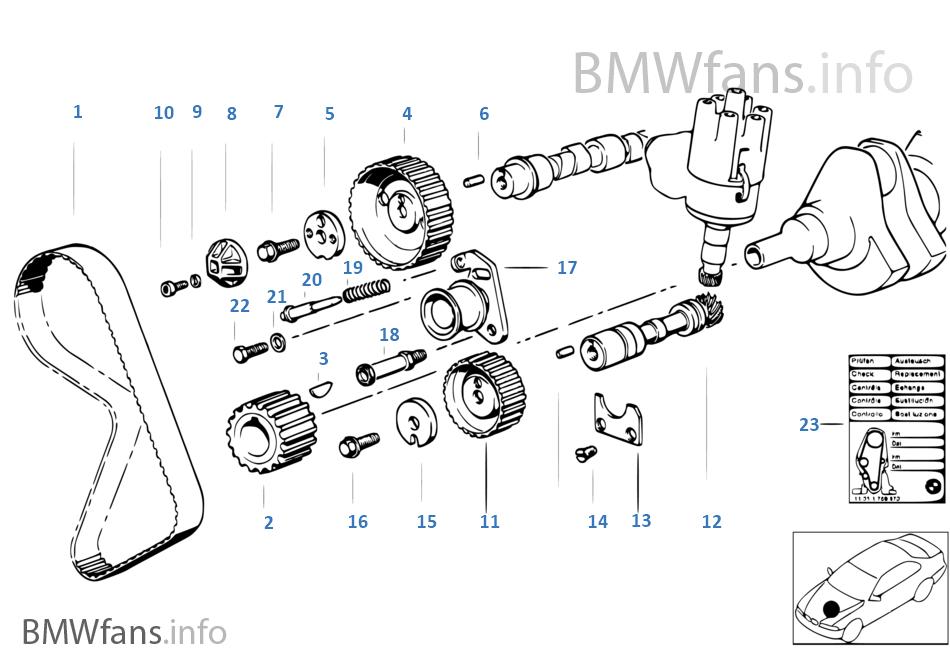 Bmw M20 Timing Marks.BMW E30 3 Series Timing Belt