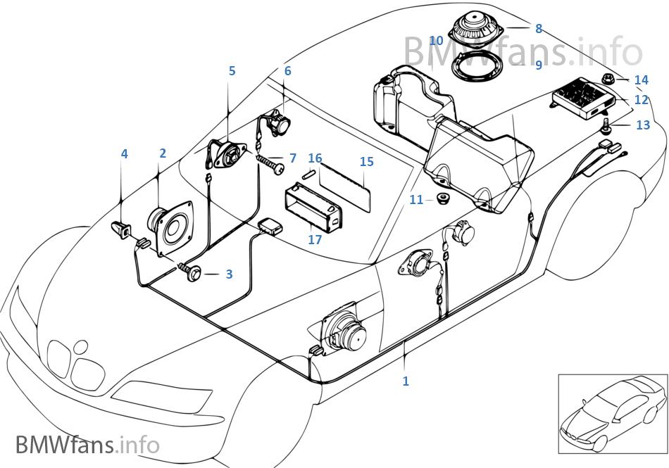 bmw z3 audio wiring diagram open source database tool pièces de système top-hifi harman kardon | e36 3.0i m54 l'europe