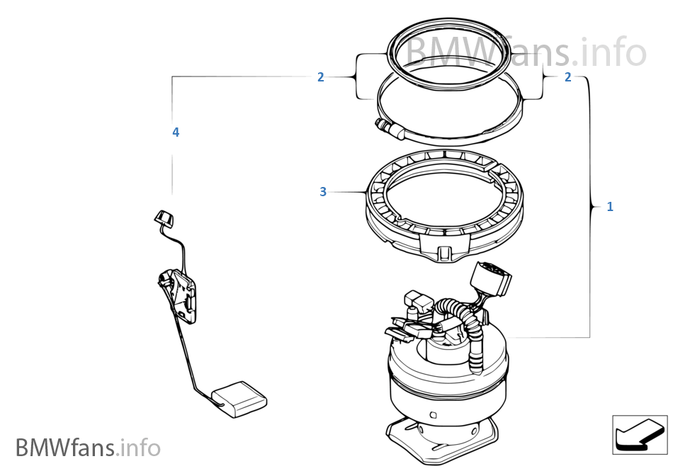 Circuit Electric For Guide: 2007 bmw 530i fuel filter location