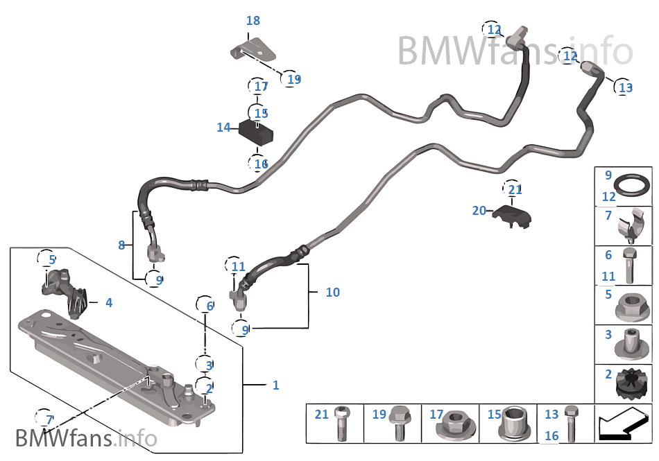 Service manual [2008 Bmw X5 Tranmission Cooling Line