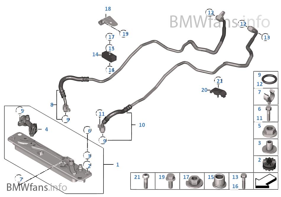 Bmw x5 transmission oil cooler