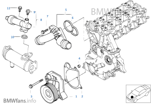 Bmw e46 320d engine diagram
