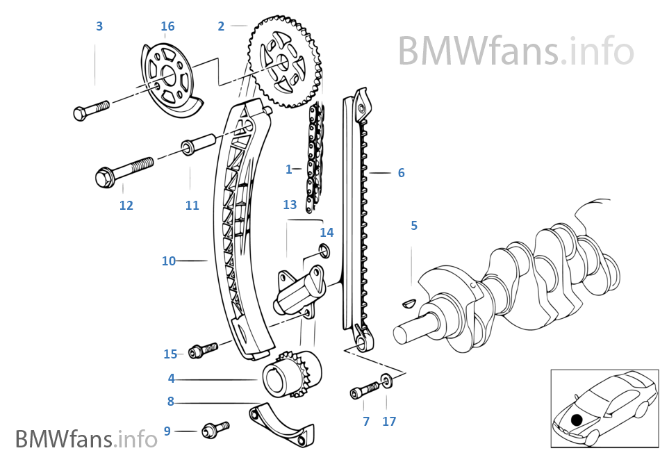 Image Of Bmw E46 318i Cam Timing Marks How to Replace