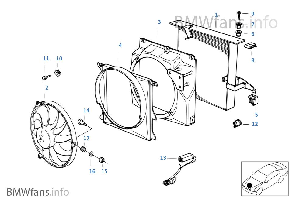 1992 Bmw 325i Parts Diagram