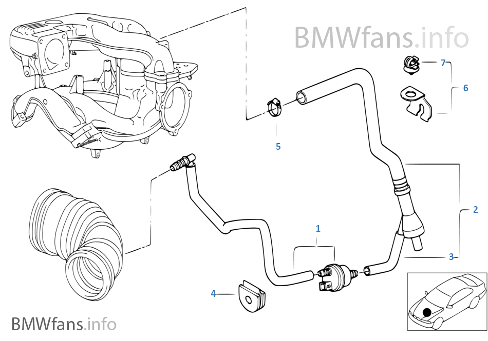 E39 540i Engine Vacuum Diagram. Diagrams. Wiring Diagram