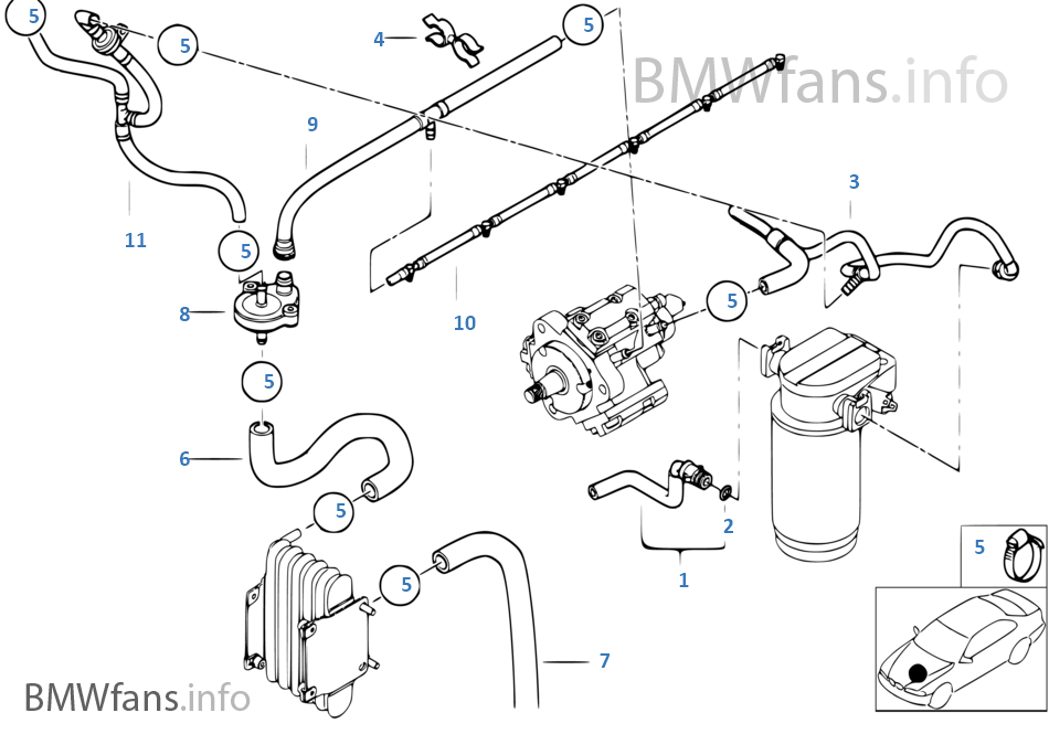 Bmw E39 Vacuum Diagram. Bmw. Wiring Diagram Images