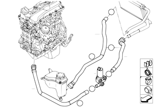 related with e90 water pump wiring diagram