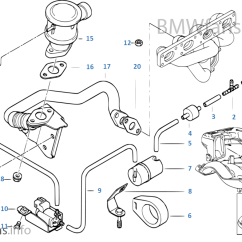 Bmw E36 Vacuum Hose Diagram 1978 Ford F150 Fuse Box Control — Tube | 3' 318i M44 Usa