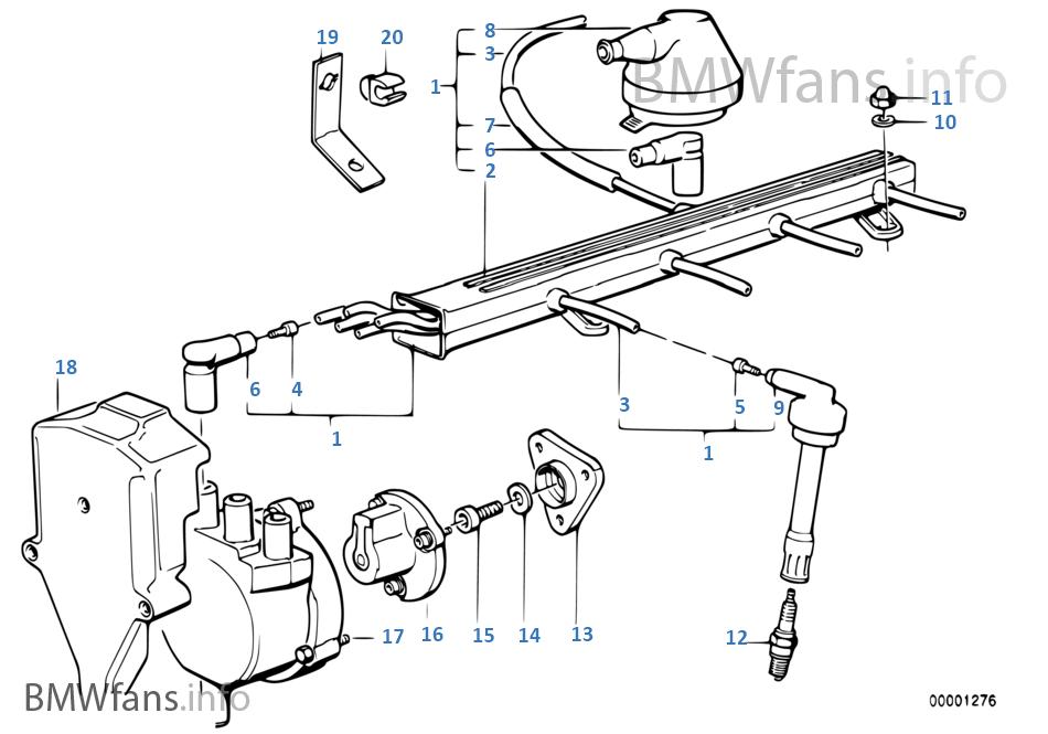 e30 engine wiring