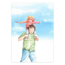Poster: Papa met superheld