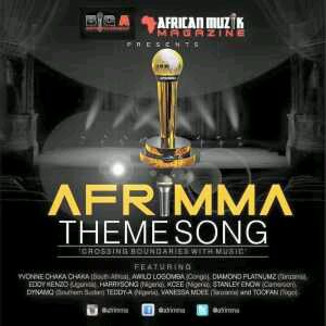 MUSIC | Diamond, Kcee, Harrysong, Awilo, Yvnone Chaka Chaka, Toofan & More – Afrimma Theme Song