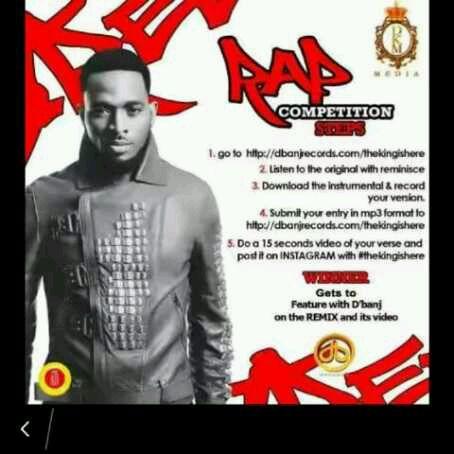 D'Banj Reveals Winners For #TheKingIsHere Rap Competition