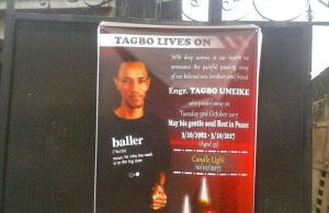 Heartbraking Obituary Poster Of Davido's Friend, Tagbo