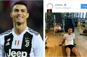 Cristiano Ronaldo becomes most followed person on Instagram