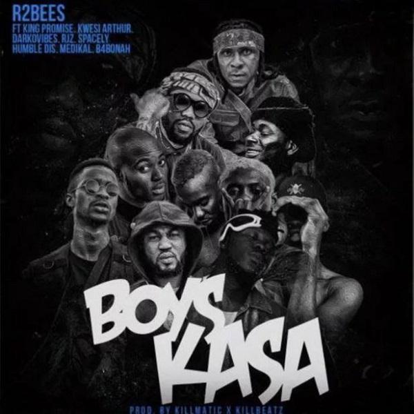 MUSIC | R2Bees ft. King Promise, Kwesi Arthur, Darkovibes, RJZ, Spacely, Humble Dis, Medikal & B4Bonah – Boys Kasa