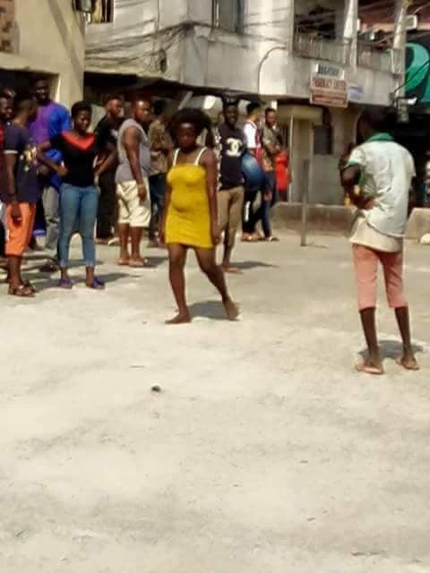 Young Lady Runs Mad After Having Sxx With A Married Man In Aba (Photos)