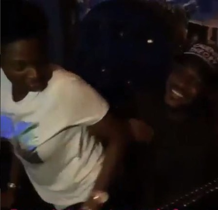 WOW! See The Romantic Moment ANNIE IDIBIA Was Captured TWERKING For Her Hubby, 2Face [Video]