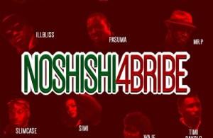 DOWNLOAD: 2Baba, Simi, Pasuma, Falz, Timi Dakolo, Waje, Illbliss, Mr. P, Slim Case & Classiq – No Shishi 4 Bribe (mp3)