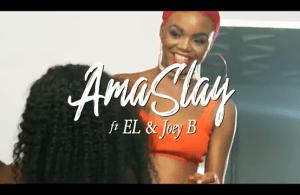 VIDEO: Ama Slay ft. Joey B, E.L – Asem