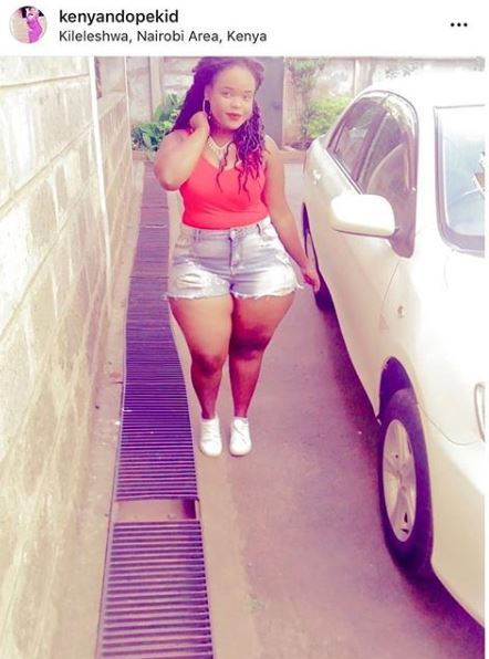 Slay Queen Caught Red-handed Photoshopping Humongous Hips (Photo)