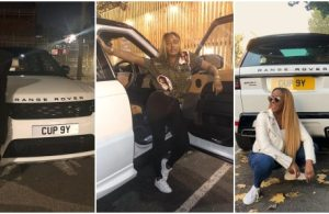 DJ Cuppy Flaunts Her Customized Range Rover Sports