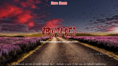 Freebeat: Afro Is Red (Prod Zion Beatz)