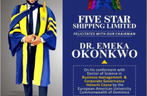 Fivestar Music Boss, E-Money, Bags Honourary Doctorate Degree