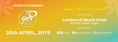 Shina Peters, Ray BLK, Blinky Bill, All Added To The Gidi Fest 2019 Line-Ups