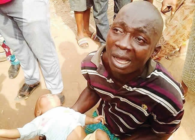 Police arrest man after abducting four month old baby in Ondo (photo)