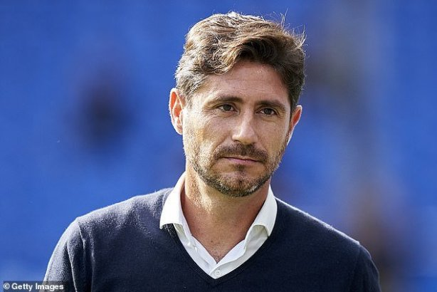 Malaga's coach Victor Sanchez is sacked over sexually explicit video of himself despite claims he is a victim of 'blackmail'