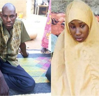 Leah Sharibu's father reacts to report of her giving birth to a baby boy for a top Boko Haram commander