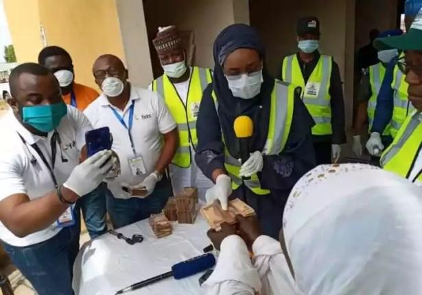 Coronavirus: FG is paying N20,000 to 5,000 Abuja households — Minister of Humanitarian Affairs, Sadiya Farouq
