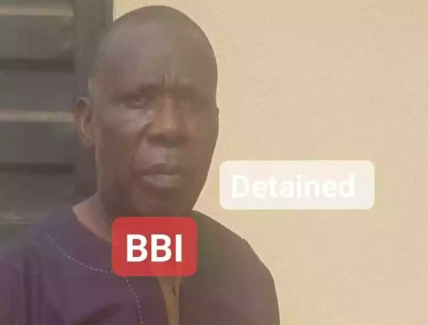 Owner of pharmacy where lady was beaten, stripped naked and filmed for stealing milk in Delta has been arrested (photos)