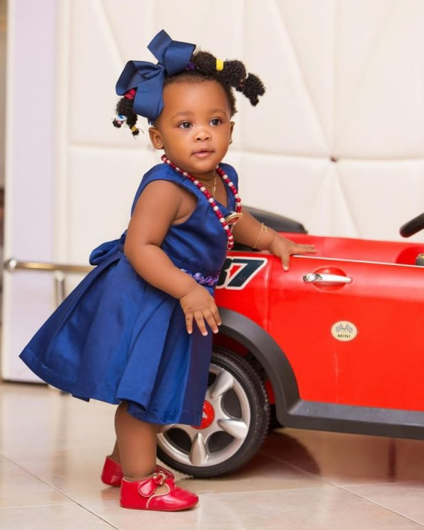 Nana Ama McBrown's 1-Year-Old Daughter, Baby Maxin Bags An Ambassadorial Deal – Check Out