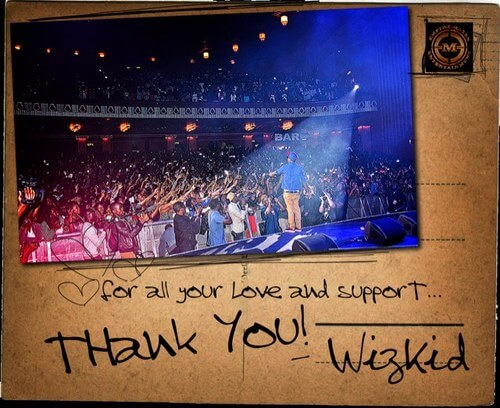 DOWNLOAD: Wizkid – Thank You MP3