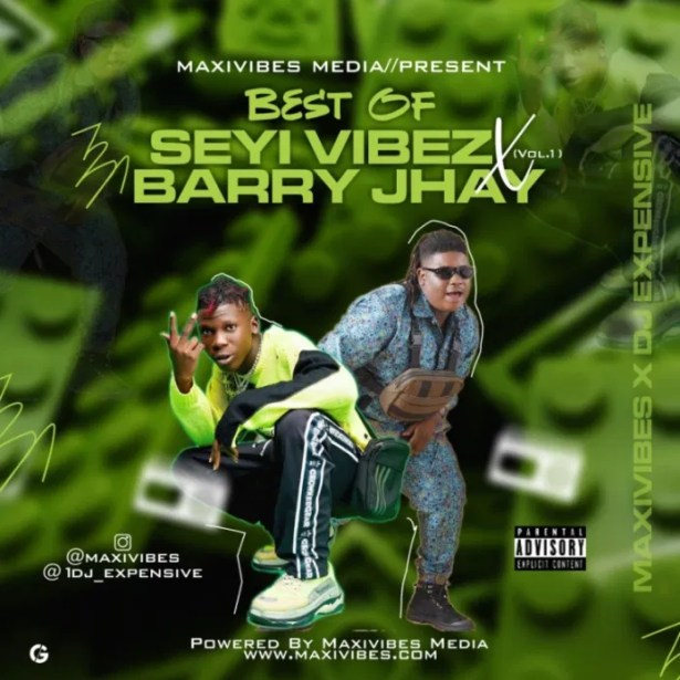 DOWNLOAD Best Of Seyi Vibez And Barry Jhay Mixtape MP3