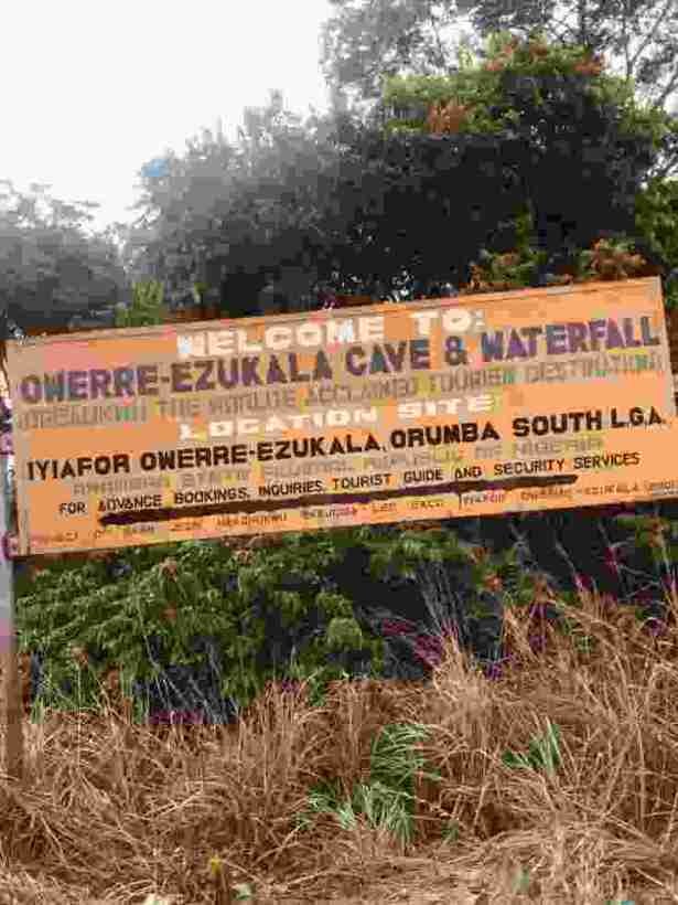 OGBA-UKWU| See The Cave Believed To Be The Living Room Of The 'god' Of Owerre-Ezukala