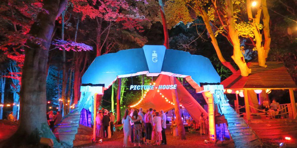 illuminated events outdoor event