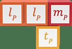 Planck's constant, Planck length squared Planck mass divided by Planck time