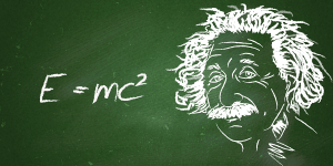 What is the physical meaning of Einstein's famous equation 𝐸=𝑚𝑐²?