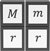 Four inputs for calculating gravitational force; two masses in the numerator and the distance squared in the denominator