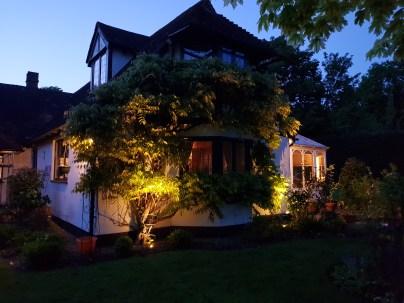 House Uplighters Garden Lighting Henham - illuminating Gardens, Garden Lighting Installation Gallery
