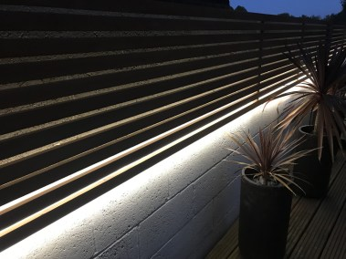 Stip Lighting Little Hallingbury, Garden Lighting, Illuminating Gardens