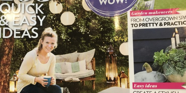 Modern Garden Magazine Advert for Illuminating Gardens