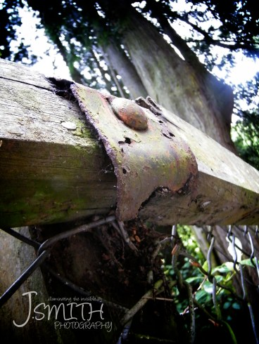 How long before this rusted hinge gives way?
