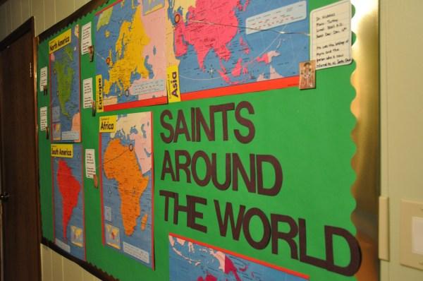 Interactive Bulletin Board Ideas Church