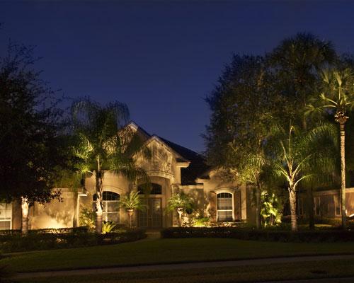 professional landscape lighting design