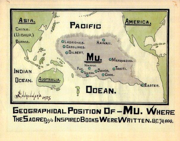 continent of mu map