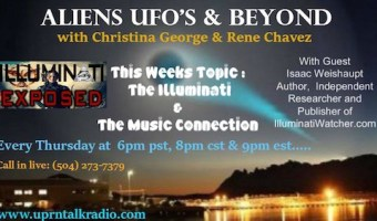 """Isaac Weishaupt on """"Aliens, UFOs & Beyond"""" show"""